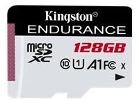 Bild von KINGSTON 128GB microSDXC Endurance 95R/45W C10 A1 UHS-I Card Only