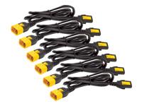 Bild von APC 6x Stromkabel C13 / C14 1,8m