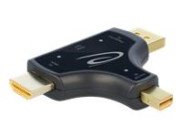 Bild von DELOCK 3 in 1 monitoradaptermit HDMI / DisplayPort / mini DisplayPort Eingang auf HDMI Ausgangmit 4K 60 Hz