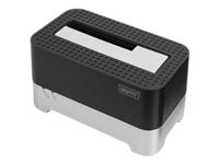 Bild von ASSMANN USB 3.0 Single SATA 6,35cm 2,5Zoll und 8,89cm 3,5Zoll HDD SDD Dockingstation