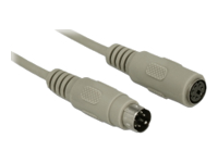 Bild von DELOCK Kabel PS/2 Stecker > Buchse 15 m