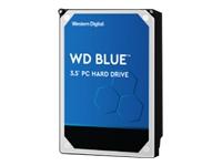 Bild von WD Blue 3TB SATA 6Gb/s HDD internal 8,9cm 3,5Zoll serial ATA 256MB cache 5400 RPM RoHS compliant Bulk