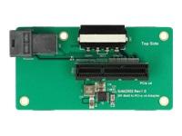 Bild von DELOCK Adapter SFF-8643 > PCIe x4 mit Befestigungsplatte