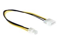 Bild von DELOCK Kabel Power Molex 4pin St -> P4 Stecker 4pin 30cm