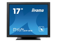 Bild von IIYAMA ProLite T1731SR-B5 43cm 17Zoll LCD 5:4 Resistive Touch Screen LED 1280 x 1024 Built-In Power AdapterHDMI