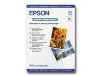 Bild von EPSON Matte archival Papier inkjet 192g/m2 A4 50 Blatt 1er-Pack
