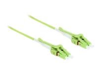Bild von DELOCK Kabel Lichtwellenleiter LC > LC Multimode OM5 Uniboot 5m