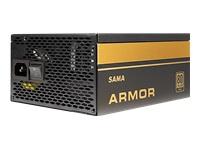 Bild von INTER-TECH SAMA FTX-850-B Netzteil 120mm Luefter akiv PFC 9xSATA 4x PCI-Express 6+2  1x 20+4pin 2x 4+4pin