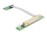 Bild von DELOCK MiniPCIe Riser-Karte > PCI 32bit/5V links 13 cm Kabel