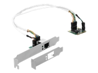 Bild von DELOCK Mini PCIe I/O PCIe half size 1 x Gigabit LAN Low Profile