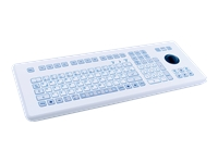Bild von GETT KS18236 Folientastatur USB DE mit Trackball und robusten Kurzhubtastern