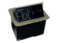 Bild von CELEXON Expert Tischanschlussfeld TA-100S fuer volle Konnektivitaet und Ordnung auf und unter Ihrem Konferenztisch -Z-