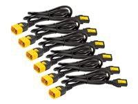 Bild von APC 6x Stromkabel C13 / C14 1,2m