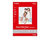 CANON GP-501 photo paper glossy A4 100Bl - Kovera Distribution