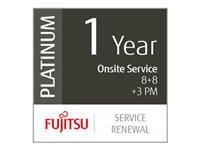 Bild von FUJITSU 1 Jahr Service-Erneuerung: Vor-Ort Service - Reaktion 8 Std + 8-Std-Fix +3 Präventive Wartungen Low-Vol Production Scanner