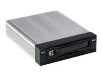 Bild von FANTEC SNT-136SAS-1 Wechselrahmen SAS schwarz Fuer 8,89cm 3,5Zoll HDD Hotplug Abschliessbar Aluminium 8cm Luefter 2xLED bis 6GBits