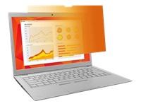 Bild von 3M Blickschutzfilter Gold GF156W9E für 39,63cm 15,6Zoll Vollbild Breitbild Laptops mit COMPLY Befestigungssystem