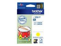 Bild von BROTHER LC-22UY Tintenpatrone gelb 1200 seiten fuer DCP-J785DW und MFC-J985DW