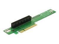 Bild von DELOCK Riser Karte PCI Express x8 gewinkelt 90 links gerichtet