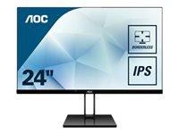 Bild von AOC 24V2Q 60,96cm 24Zoll Display Basic B2B HDMI+DP+VGA Speakers
