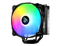 Bild von ENERMAX ETS-F40-FS ARGB CPU Cooler mit ARGB Silence PC Luefter 14cm. 6mm Heatpipes direct touch. Platzsparende Bauweise