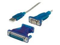 Bild von VALUE Konv.kb. USB-Seriell plus DB9 25 Adapter