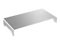 Bild von DIGITUS Schlanke Aluminium Monitorerhöhung Silber