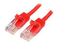 Bild von STARTECH.COM 0,5m Cat5e Ethernet Netzwerkkabel Snagless mit RJ45 - Cat 5e UTP Kabel - Rot