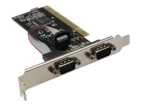 Bild von INLINE Schnittstellenkarte 2x 9pol seriell PCI
