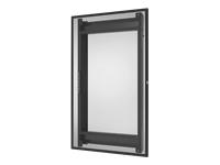 Bild von PEERLESS-AV EWL-OH46F Wandhalterung Hochformat mit Neigungsfunktion für Samsung Display OH46F Farbe Schwarz