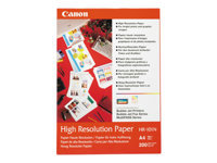 Bild von CANON HR-101 high resolution Papier inkjet 110g/m2 A4 200 Blatt 1er-Pack