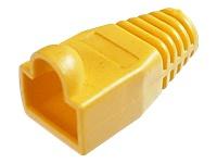 Bild von ASSMANN Knickschutztülle für 8P8C Modular-Stecker Farbe Gelb