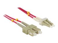 Bild von DELOCK Kabel LWL LC/SC 50/125µ 10m OM4