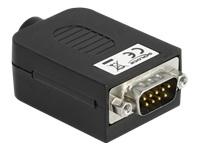 Bild von DELOCK Adapter Sub-D 9 Pin Stecker zu Terminalblock 10 Pin mit Gehäuse