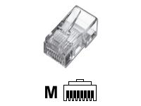 Bild von ASSMANN Modularstecker geschirmt 8P8C RJ45 Cat5e fuer Rundkabel bulk