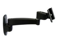 Bild von ERGOTRON 200 Series Wandhalterung 1 Verlaengerung schwarz bis 68,6cm 27Zoll max.11,3kg. VESA 100x100 75x75mm