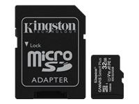 Bild von KINGSTON 32GB micSDHC Canvas Select Plus 100R A1 C10 Three Pack + Single ADP