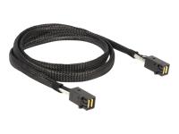 Bild von DELOCK Kabel Mini SAS HD SFF 8643 x4 Stecker / Stecker   1 m