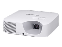 Bild von CASIO XJ-V110W DLP 1280x800 3.500 Lm 3,9kg TR 1,32-1,93:1 1,5 fach Zoom 20.000 Std.VGA HDMI 3,5mm in+Out RS232