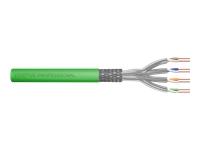 Bild von DIGITUS DK-1843-VH-10 CAT 8.2 S-FTP installation cable 2000MHz Dca EN 50575 AWG 22/1 1000m drum sx ye