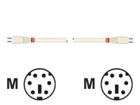 Bild von LINDY PS/2 Kabel, 1m, m/m, geschirmt Anschlusskabel, vergossen
