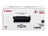 Bild von CANON 732H-BK Toner schwarz hohe Kapazität 12.000 Seiten 1er-Pack