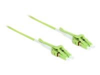 Bild von DELOCK Kabel Lichtwellenleiter LC > LC Multimode OM5 Uniboot 2m