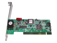 Bild von ULTRON Faxmodem V92 Smartlink UMO-856PCI Datentransfer 56.000bps/33.600bps Hayes kompatibel Plug + Play 56k TAE Kabel Treiber CD