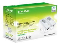 TP-LINK 500MBPS NANO POWERLINE - Reitittimet ja verkkolaitteet - 6935364031848 - 1