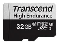 Bild von TRANSCEND 32GB microSD w/ adapter U1 High Endurance