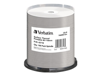 VERBATIM CD-R AZO 52X 700MB THERMO PRINT - Kovera Distribution