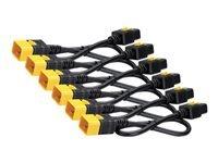 Bild von APC 6x Stromkabel C19 / C20 1,2m