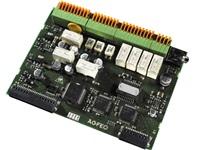 AGFEO K-Modul 544 4 Alarmeingaenge 3 a/b Ports davon jeweils einer als 2-Draht oder 4-Draht FTZ TFE MoH extern