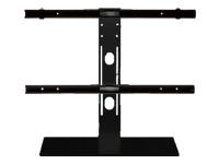 Bild von MULTIBRACKETS Tablestand 100 Tischfuss hoehenverstellbar fuer Displays von 116 bis 161 cm  Schwarz